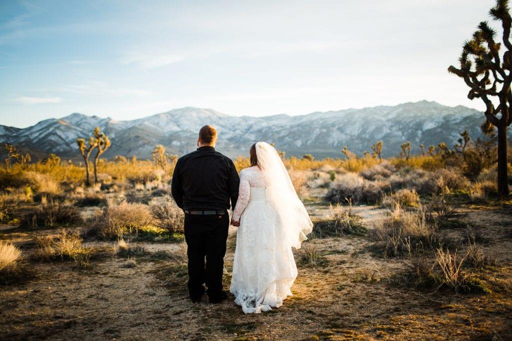 Joshua Tree wedding desert wedding California photographer