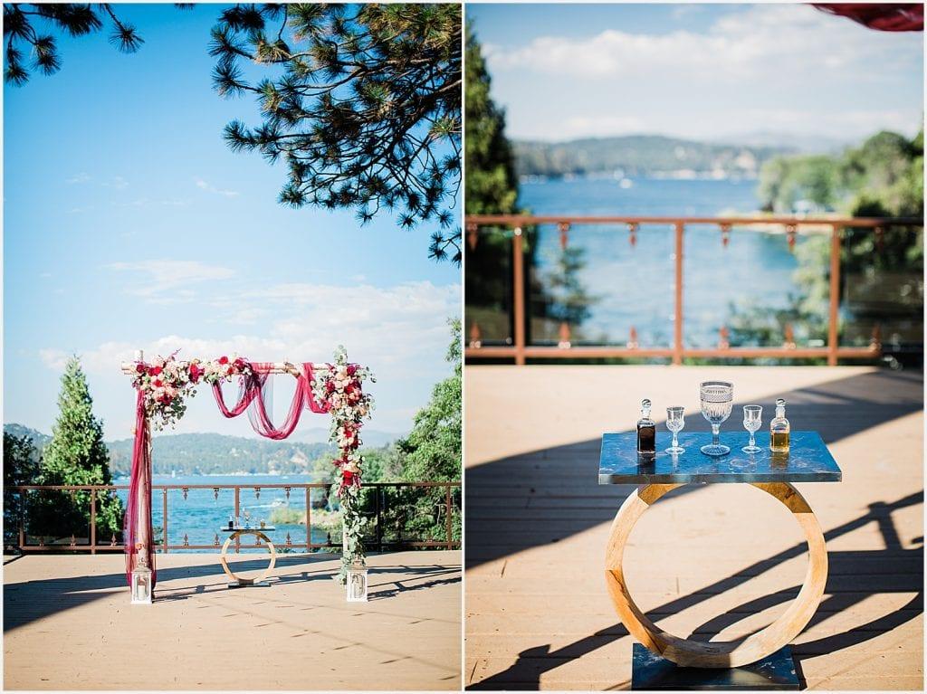 Lake Arrowhead Resort wedding mountain Lake Gregory Big Bear Crestline