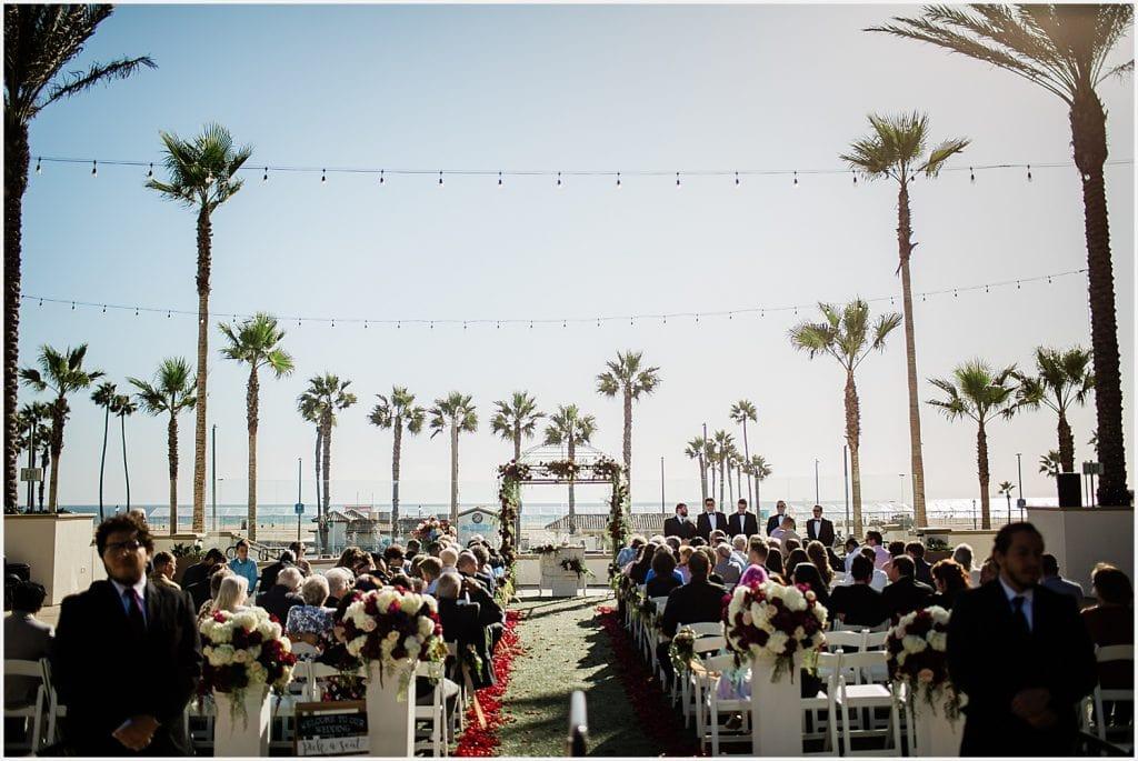Waterfront Resort Hilton Huntington Newport Beach California