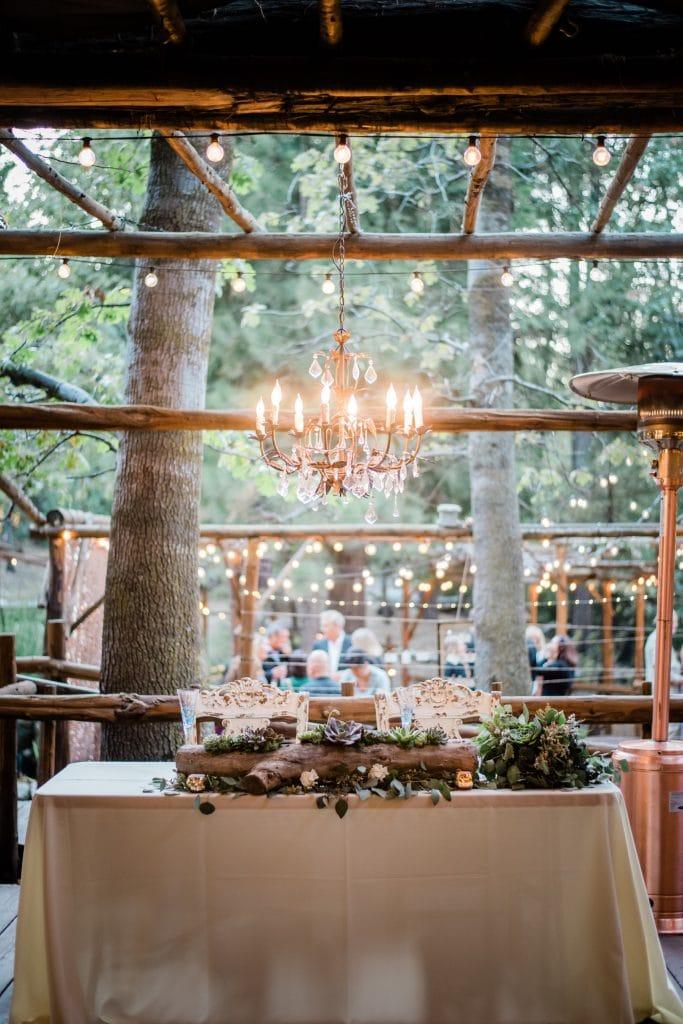 Fall Wedding at Pine Rose Cabins