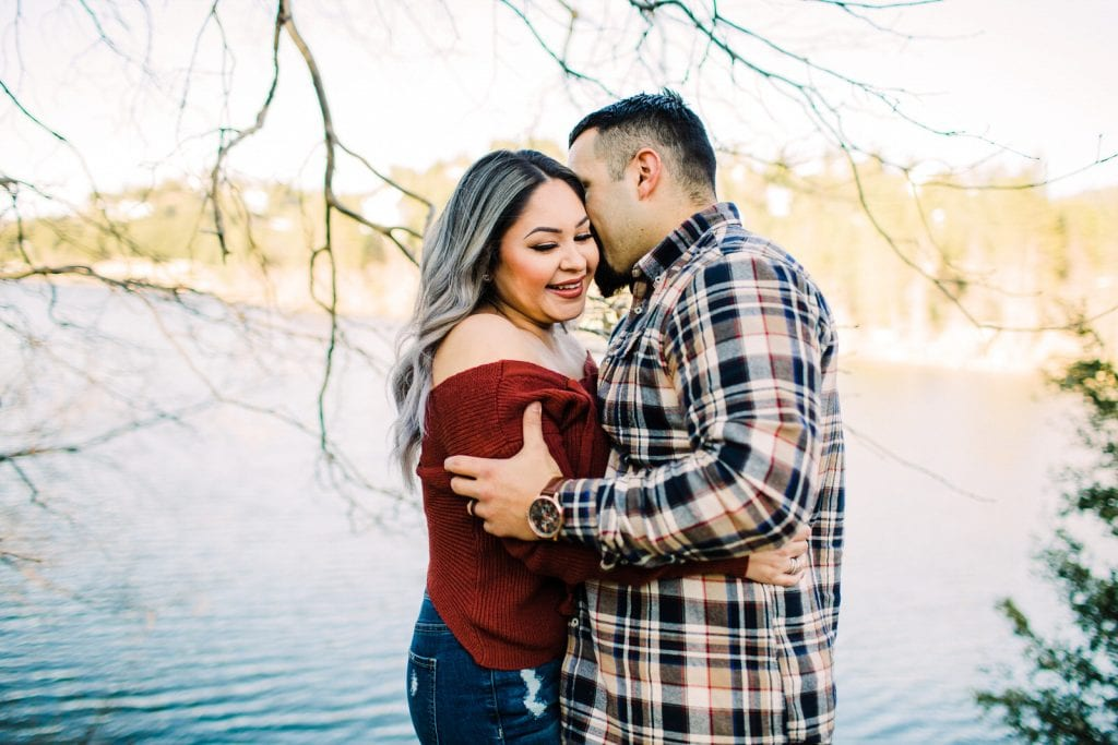 Lake Gregory Engagement Crestline Lake Arrowhead Big Bear Mountain Forest Southern California wedding photographer
